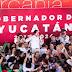 Mauricio Sahuí se registró esta mañana como precandidato de unidad del PRI al Gobierno de Yucatán