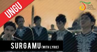 Lirik Lagu Ungu - SurgaMu