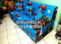 Sofa bed Inoac motif Cars lipat inoactasik