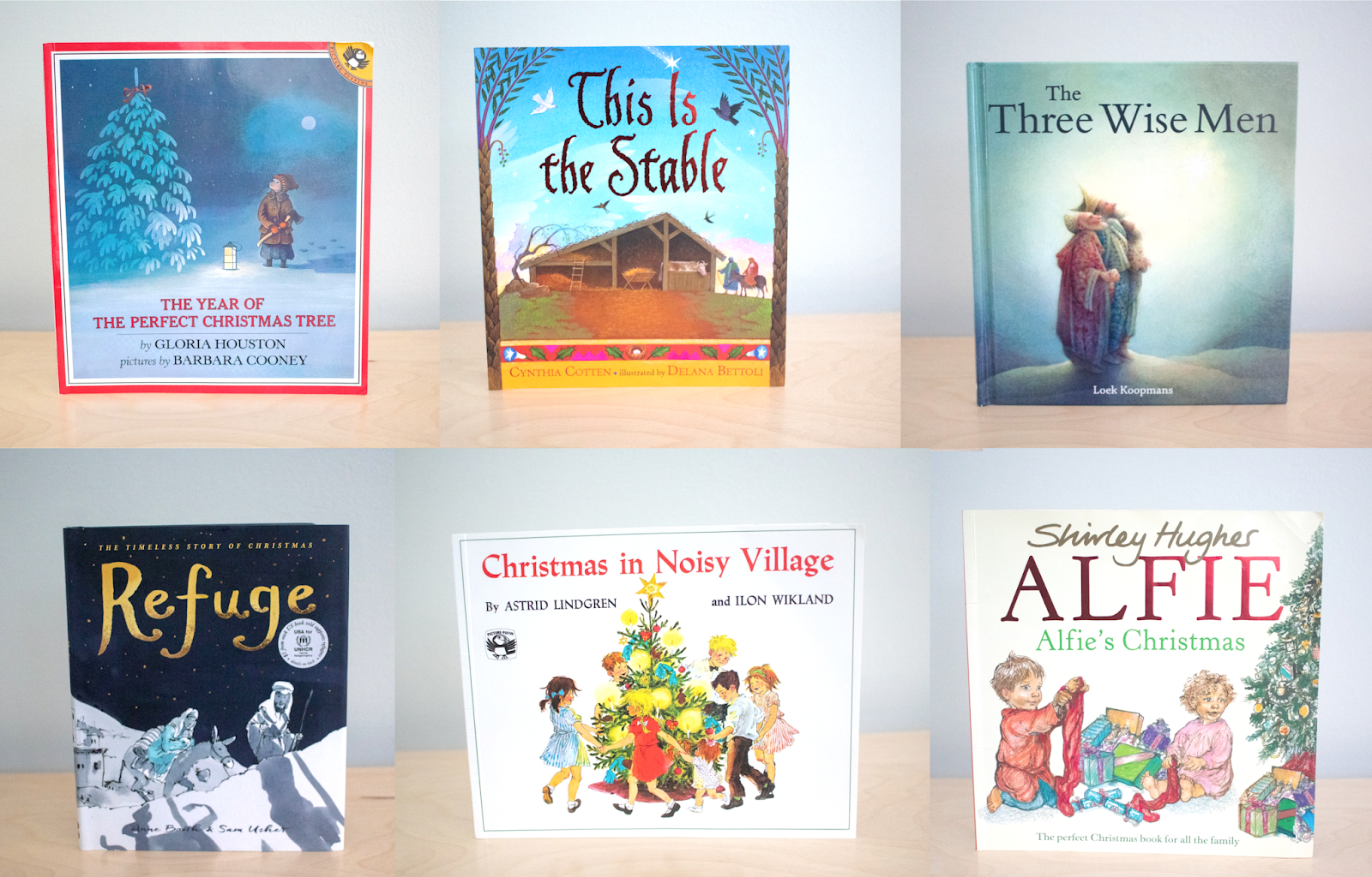 A book a day for Advent plus Montessori friendly Christmas books to consider.