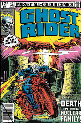 Ghost Rider #40, nuclear explosion