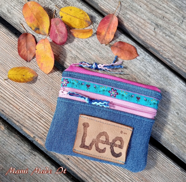 Jeans Geldtasche - Denim Wallet