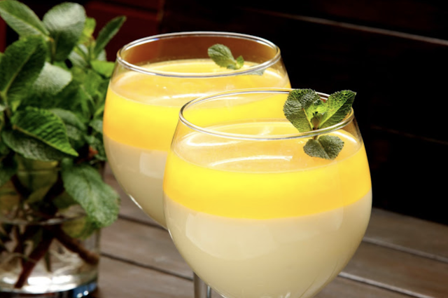 maracuja served in a glass
