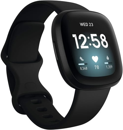 Review Fitbit Versa 3 Health Fitness Smartwatch
