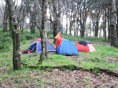 Explanada para acampar en Cerro Viejo