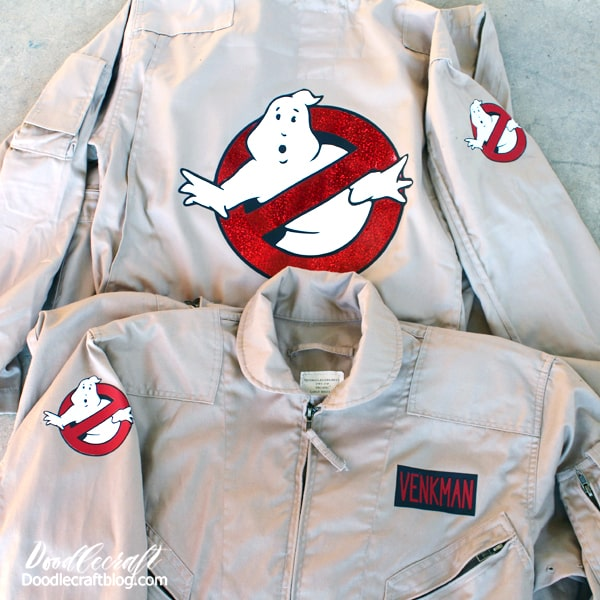 Dress up like the ghostbusters using this simple and fun tutorial. The Cricut Maker makes this a super simple and quick DIY for a last minute Halloween costume!