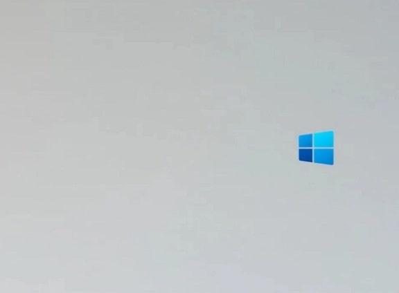 Tampilan animasi booting Windows 10X | Gaptogeek