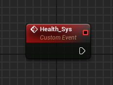 Custom Event: Health_Sys