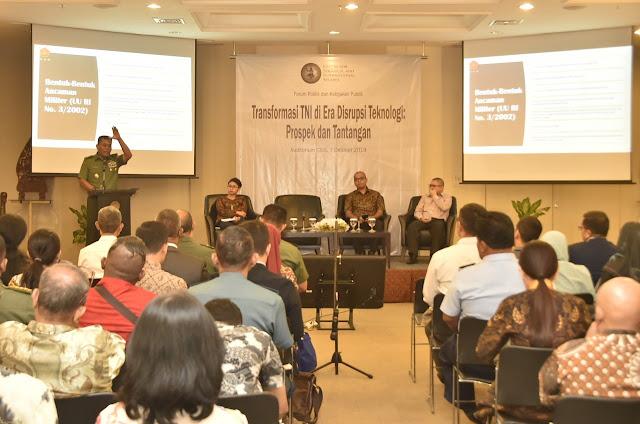 Kasum TNI : Indonesia Lima Tahun Kedepan Diperkirakan Masih Akan Menghadapi Berbagai Ancaman