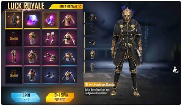Cara Dapat Bundle Diamond Royale FF Terbaru