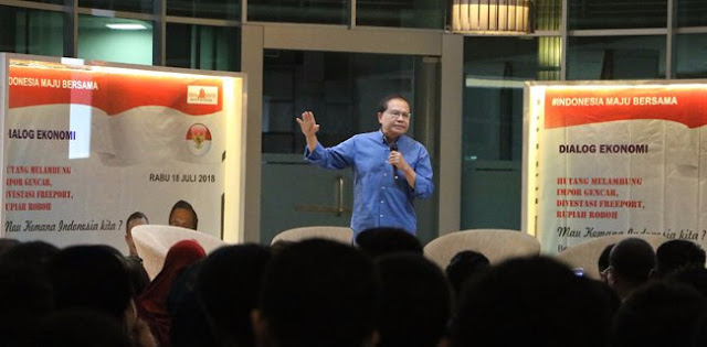 Rizal Ramli: Tinggalkan IMF dan Bank Dunia Agar Ekonomi Tumbuh Pesat