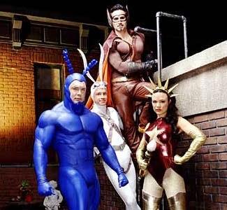 Hung Up on Superheroes: The Tick (2001, Netflix)