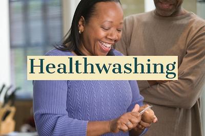 What is healthwashing?