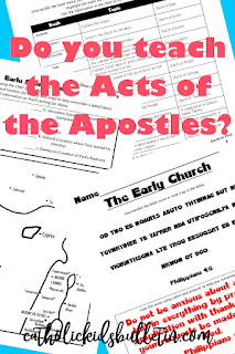 Act of the Apostles & Early Church Lesson Plan