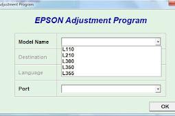 Download Resetter For Epson L120 / L220 / L310 / L311 For Windows