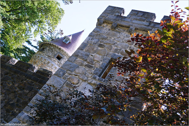 Searles Castle en Windham, New Hampshire