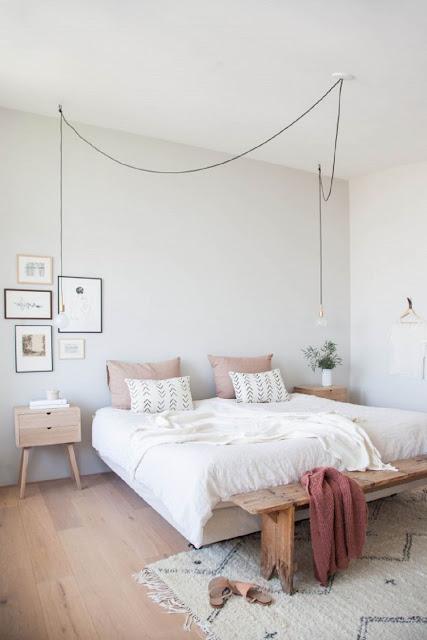 ide dekorasi kamar tidur bergaya skandinavian