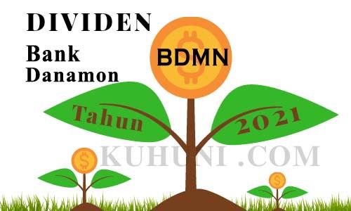 Dividen Bank Danamon 2021