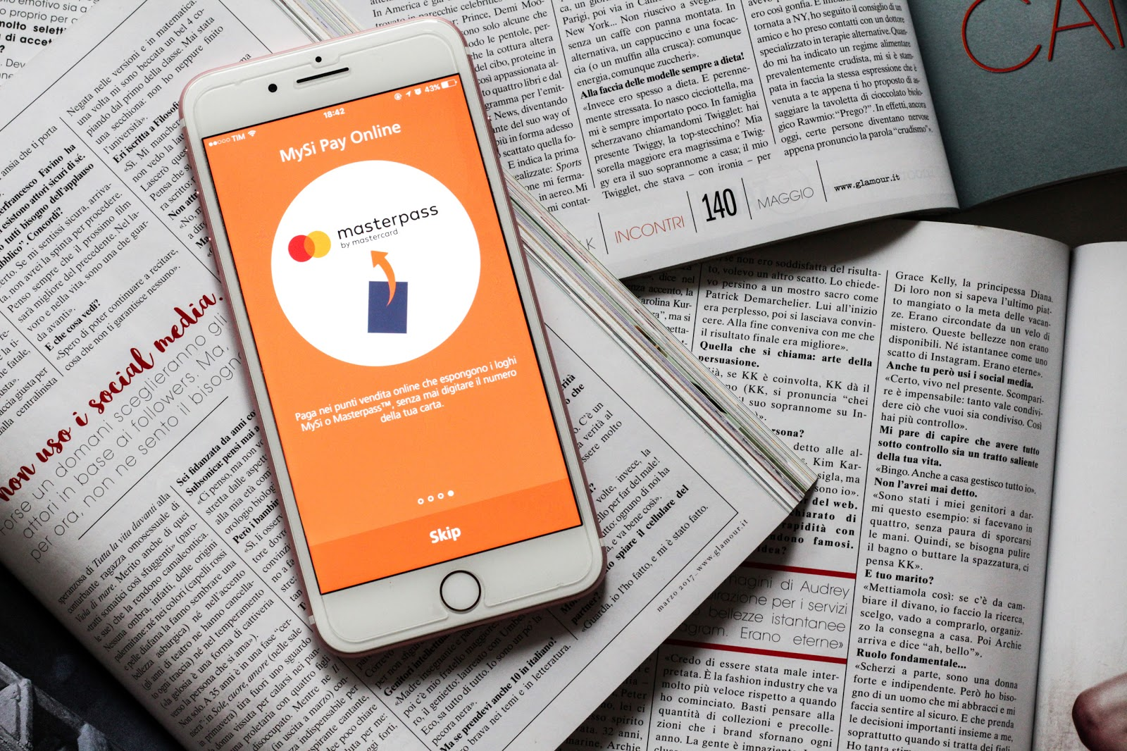 Paga e controlla il tuo shopping con l'app CartaSi!