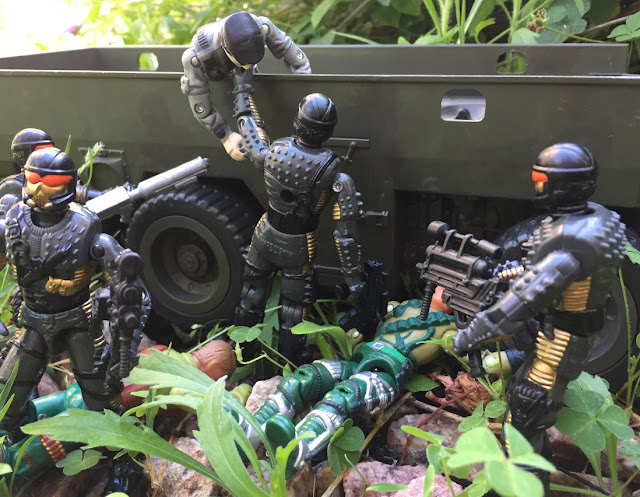 1993 Headhunter Stormtrooper, DEF, Headhunters, Mirage, Mega Marines 2002