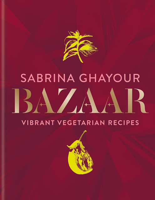 Bazaar cookbook cover by Sabrina Ghayour