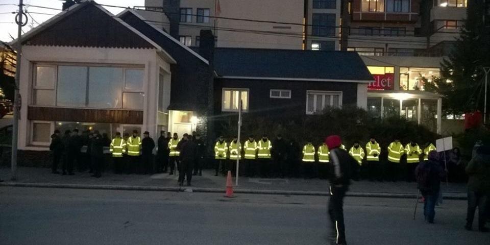 Policia denuncio a gremialistas por amenazas