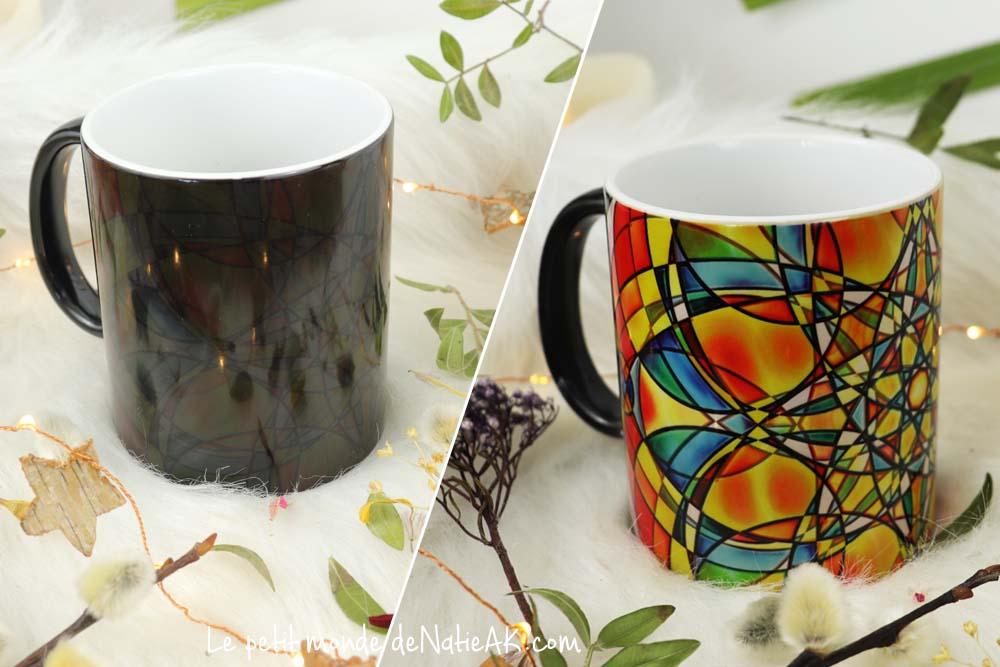 mug magique avis Modèle Vera noir