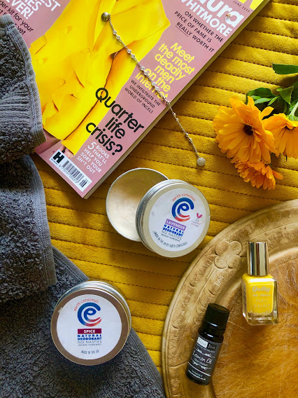 Earth Conscious natural deodorants vegan cruelty free