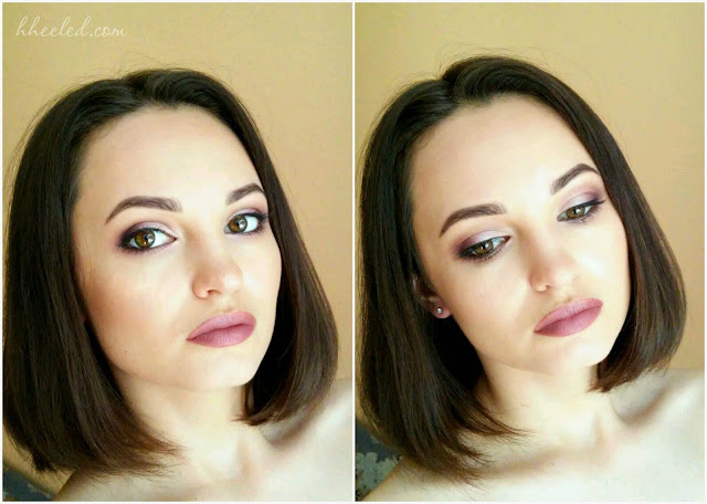 Макияж с палеткой теней Т19 Make-up Atelier Paris
