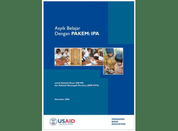 Buku Asyik Belajar dengan PAKEM - IPA (untuk SD-MI dan SMP-MTs)