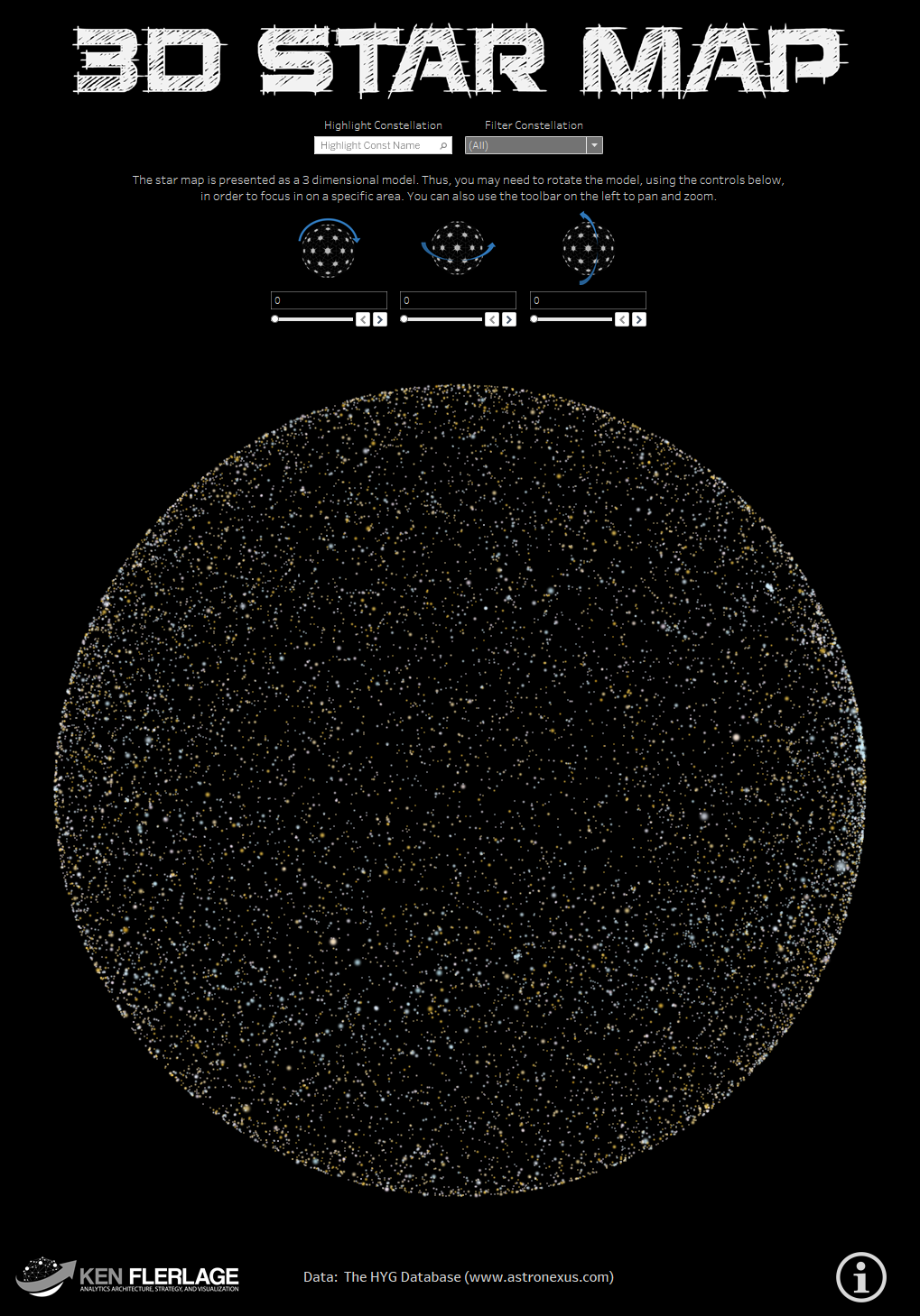 Workbook: 3D Star Map