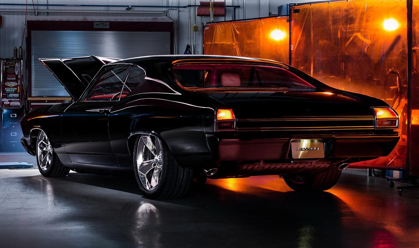 Chevy Chevelle 2016 >> Chevy Chevelle Slammer Ol Skool Muscle Concept Dengan Fitur
