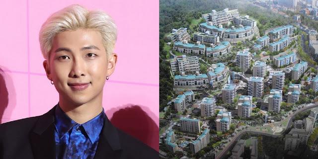 RM BTS Dikabarkan Membeli Apartemen Mewah di Seoul