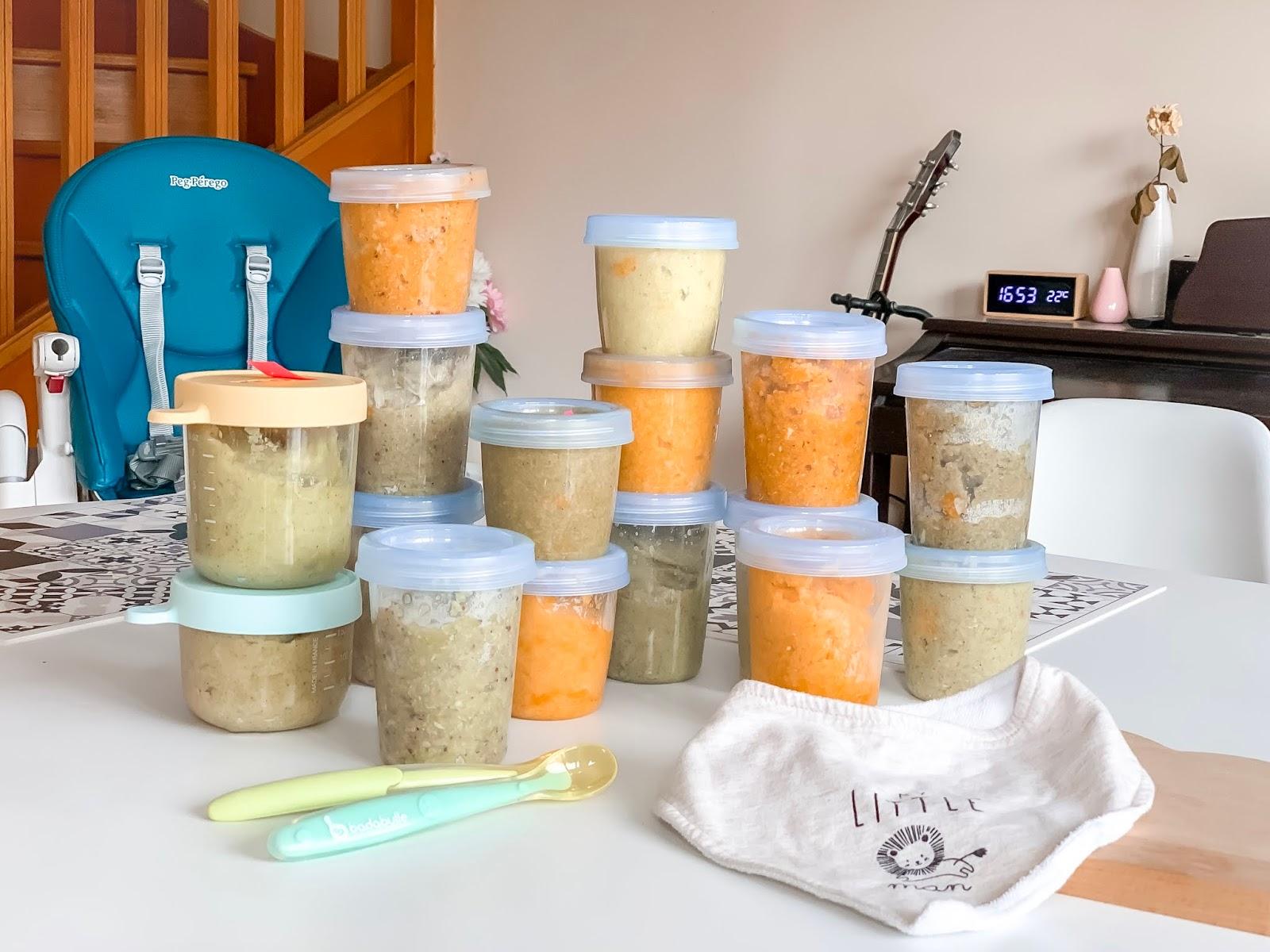 diversification alimentaire petit pot fait maison comment faire bébé organisation