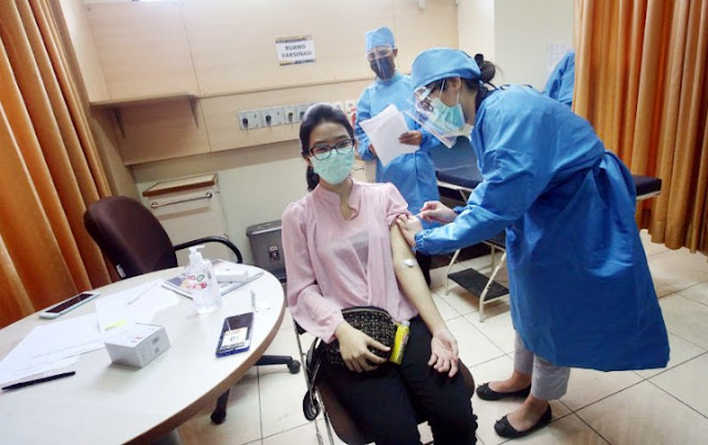 Relawan Disuntik Vaksin China Positif Covid-19, Uji Klinis Jalan Terus