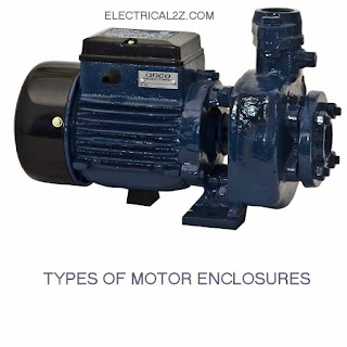 electric motor enclosure types, motor enclosure types, tefc motor enclosure, nema motor enclosures, totally enclosed motor @Electrical2z