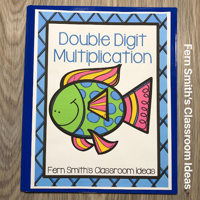 Click Here for the 2-Digit By 2-Digit Multiplication Task Cards #FernSmithsClassroomIdeas