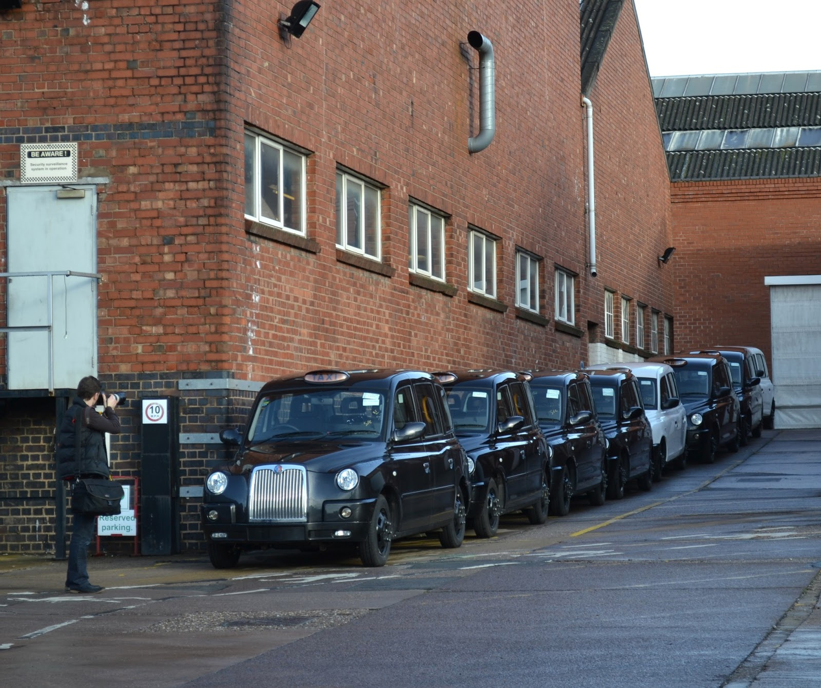 Today Around Coventry: London Taxi