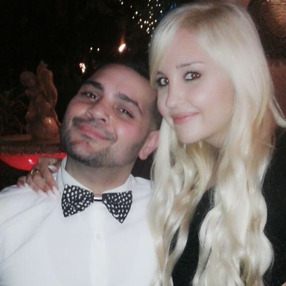 Amanda Bynes and Michael Costello