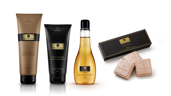Eudora se inspira no tecido para criar nova linha de produtos Velvet Premium