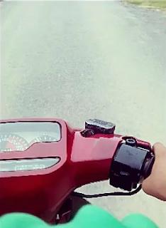 Gambar naik motor baru