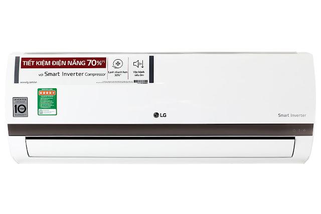 Điều hòa một chiều LG Inverter 1.5 HP V13END