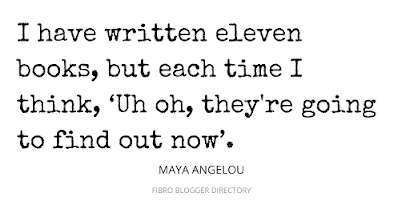 maya angelou quote about writing