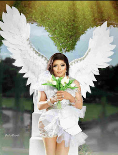 Amazing pictures of Bobrisky looking like an angel