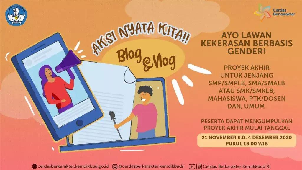 Banner Lomba Blog Kemdikbud