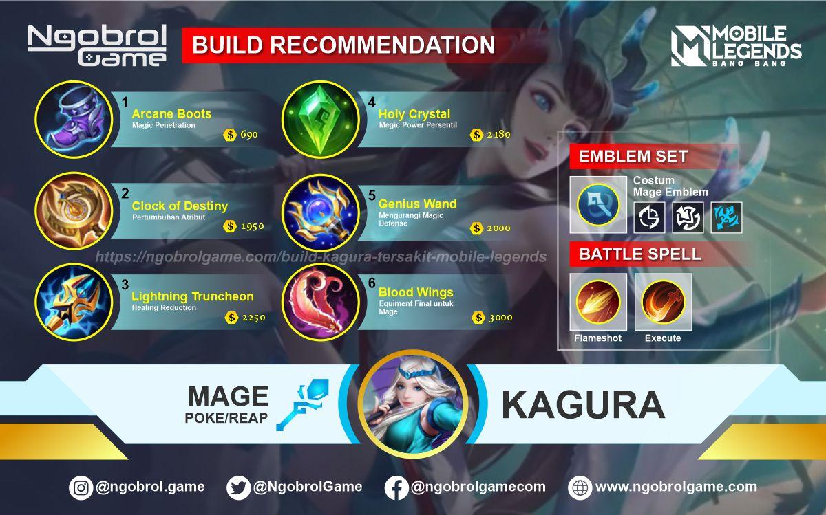 Build Kagura Savage Mobile Legends