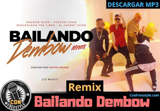 Shadow-Blow-Shelow-Shaq-Musicologo-The-Libro-El-Cherry-Scom-Bailando-Dembow-Remix