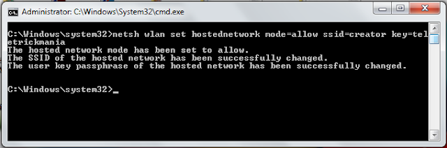 How to make wifi hotspot in windows 7, 8, and 10 without any software?