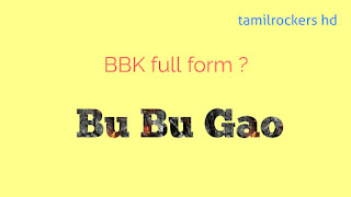 Bbk full form