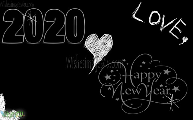 New year 2020 Desktop Love Wallpapers